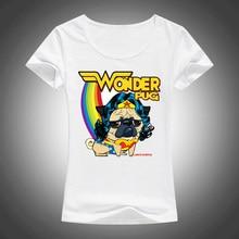 Wonder Pug Women's Short Sleeve T-Shirt