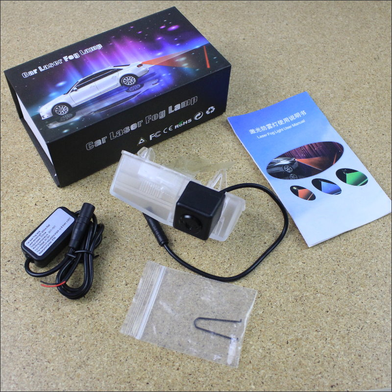 Car Tracing Cauda Laser Light For Lexus CT200h CT 200h / HS250h HS 250h 2010~2013 Anti Fog Lamps Rear Anti-collision Lights