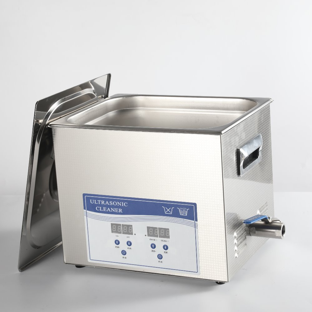 10L Jewelry Eyeglasses SS Digital Ultrasonic Cleaner With Heater