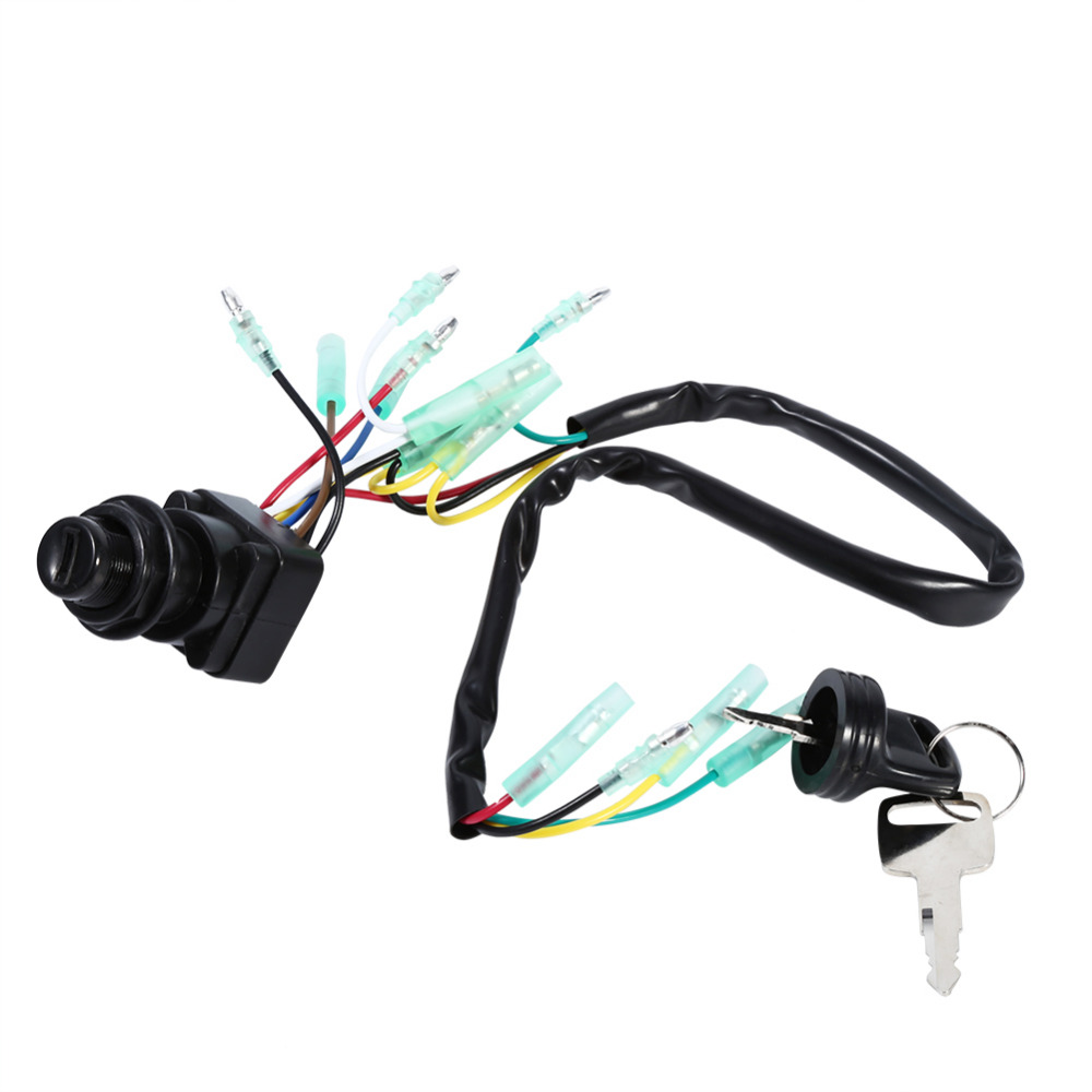 US $17.92 15% OFF|Ignition Main Switch y for Yamaha Outboard Motor on