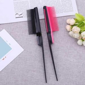 Image 2 - 1pc Pointed Tail Comb Prevent Hair Loss Hair Brush Salon tool Styling Comb Multiple Comb Teeth Comb