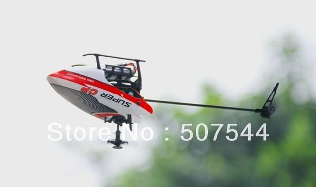 Super CP Devo 7E 3 G sistema Gyro 6CH RTF helicóptero frete grátis expressar