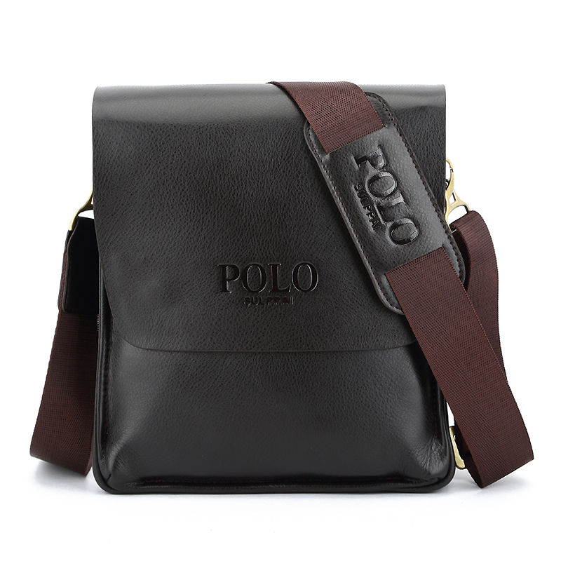sulppai font b polo b font Hot Sale Fashion font b Men b font Genuine Leather