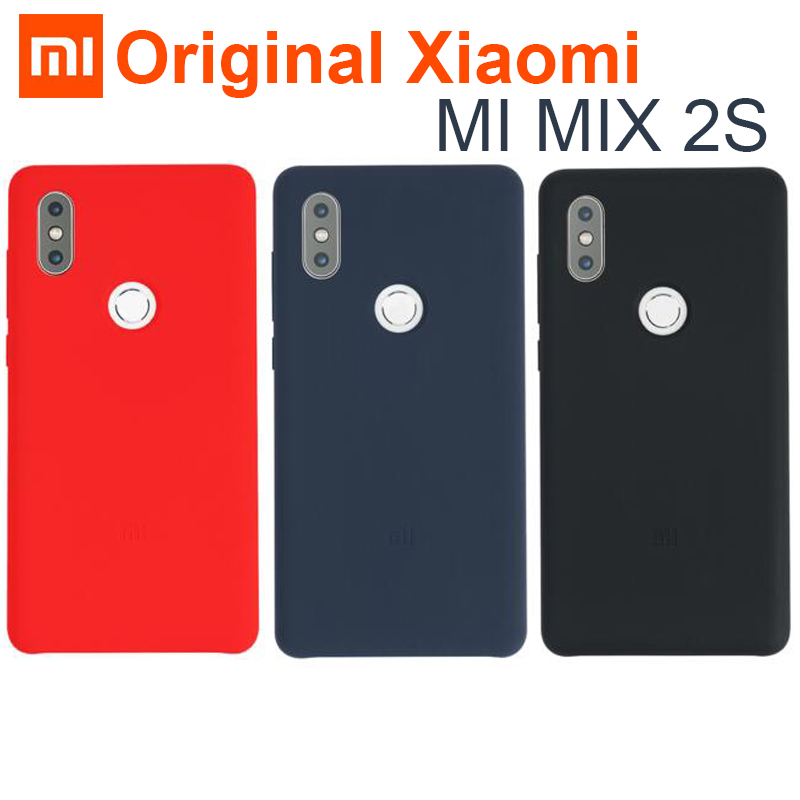 Xiaomi Cover Comfortable 2s-Case MIX2S Original Silicone Mi-Mix Shockproof-Shell Soft-Fiber