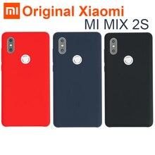 원래 xiao mi mi mi x 2 s 케이스 커버 정품 실리콘 + 부드러운 섬유 내구성 편안한 shockproof 쉘 mi mi x 2x mi x2s 5.99