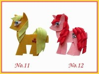 Hand Customize Free Shipping 60pcs New Style PrincessBLESSING Good Girl Bug Clip Little Pony Minions Hippopotamus