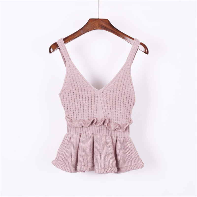 knitted vest 12