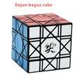 Nueva llegada cubo mágico cubo de la velocidad dayan bagua 6 eje 8 fila negro/blanco/stickerless/transparente orange speed puzzle cubos