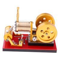 DIY Модель двигателя Стирлинга генератор питания обучающая помощь физика Обнаружение наука учеба развивающие игрушки подарки