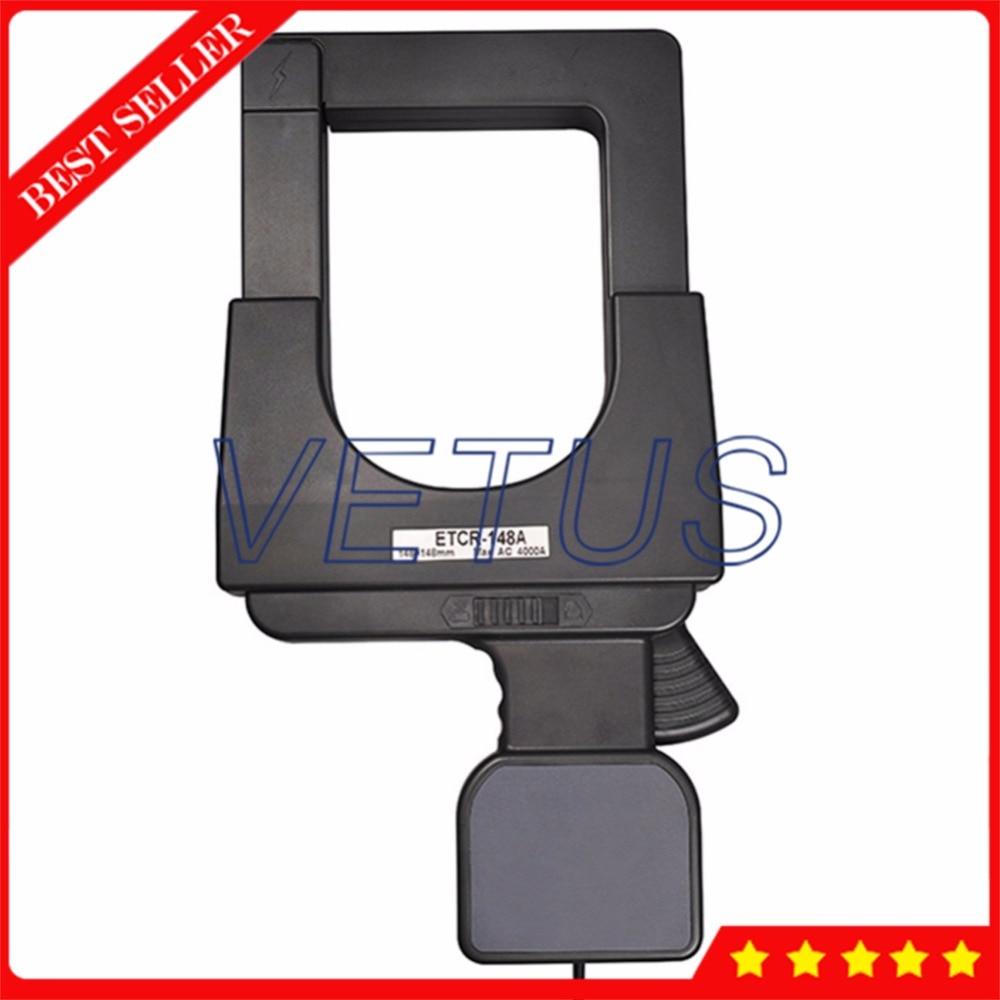 ETCR148A Clamp ammeter higher harmonic current meter of 108mm*148mm Super large Caliber AC Current Sensor