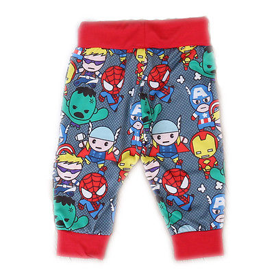 Cartoon Newborn Kids Baby Boy Clothes Cartoon Pants Toursers Outfits Cotton