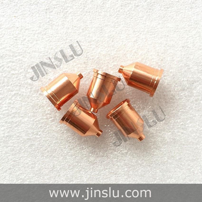 220037 Electrode 20pcs+220011 Nozzle 20pcs per lot,Plasma Consumable for 100A Plasma Cutting Consumables  цены