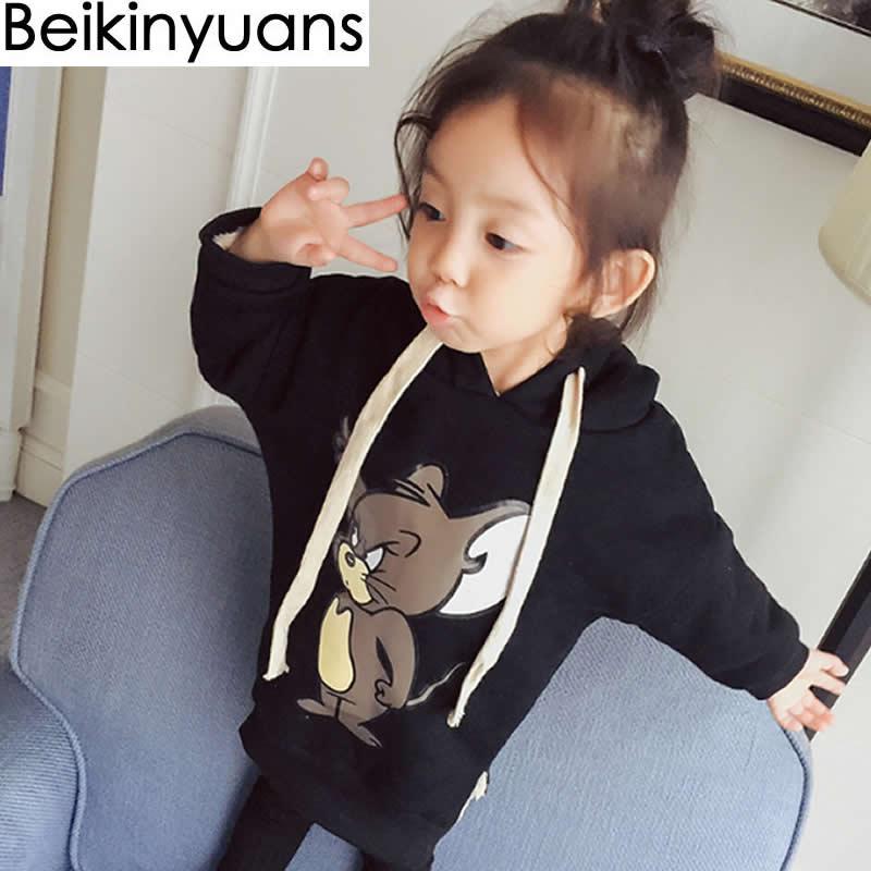 37418ba5b85f Baby Children s Clothing Fall Winter Loaded Baby Girls Plus Velvet ...