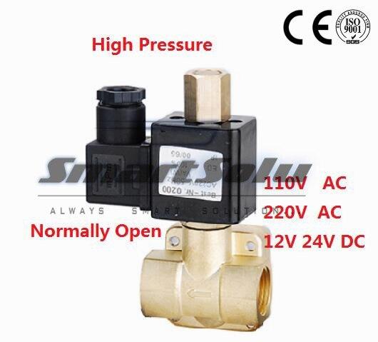 High Quality 1/2'' 230 PSI Electric Solenoid Valve 12VDC Normally Open Diaphragm Valve 0955305