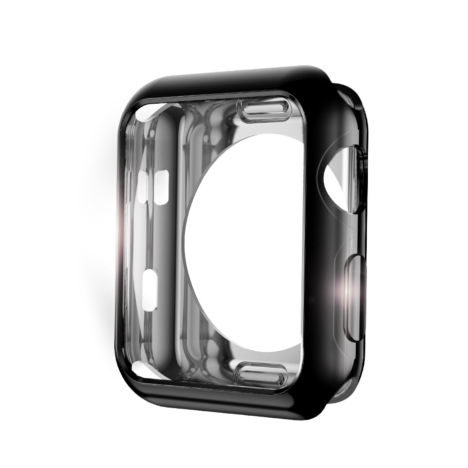 cover plating hard silicone watchbands for apple computer screen - Mobile Phone Accessories and Parts