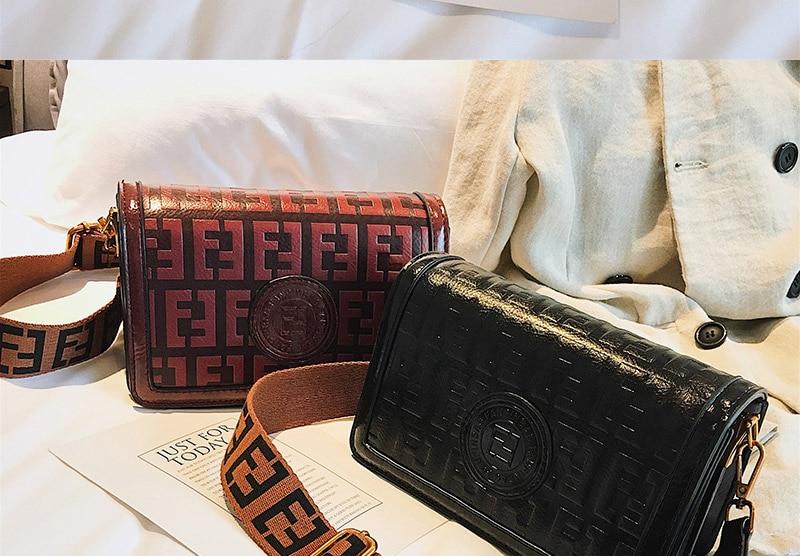 2019 Sac Femme Luxury Handbags Women Bags Designer Leather Crossbody Bag For Women Shoulder Bag Ladies Messenger Bags Letter (18)