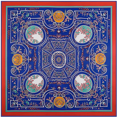 Luxury-Brand-Women-Twill-Silk-Scarf-2016-New-Style-Retro-Geometric-Print-Big-Square-Pashmina-Shawl (6)
