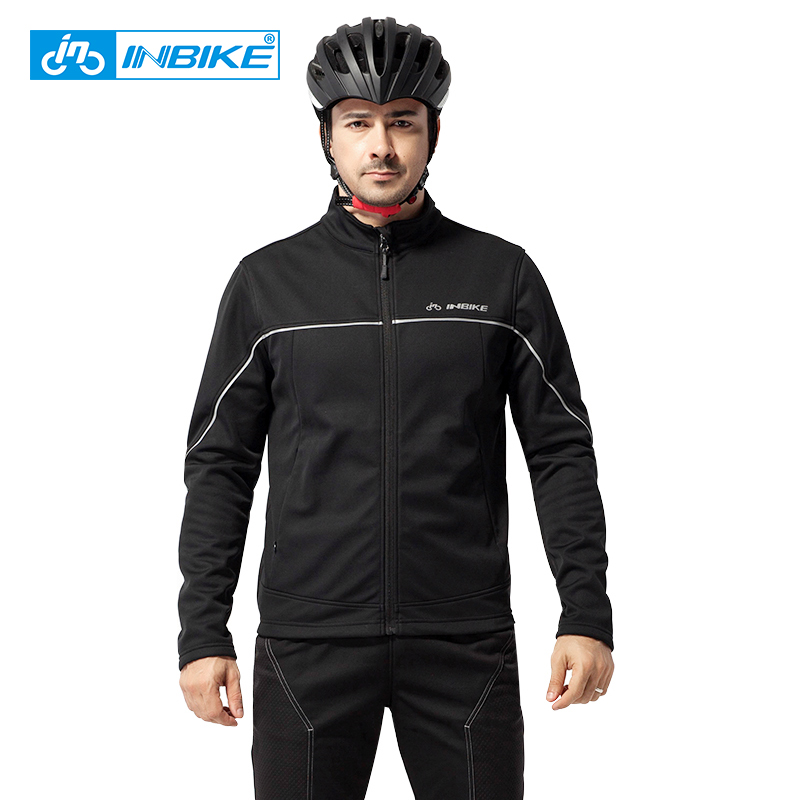 INBIKE Outdoor Cycling Jacket Winter Riding Suits Outdoor Sport Clothes Pants Travel Climbing Hiking Warm Long Sleeves Bike Suit