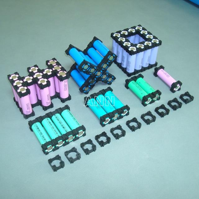 شحن مجاني 18650 حامل بطارية أسطواني البطارية قوس 18650 خلية ليثيوم أيون 1P حامل 18650 بطاريات تركيبات قطرها 18.3