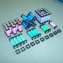 Darmowa wysyłka 18650 uchwyt baterii akumulator cylindryczny uchwyt 18650 li ion cell 1P uchwyt 18650 baterie średnica oprawy 18.3