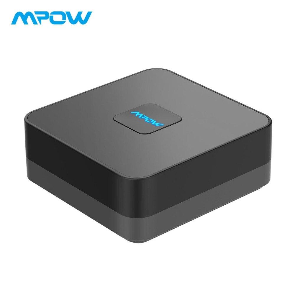 Professioneller Verkauf Mpow 3rd Gen Wireless Adapter Bluetooth 4,1 Empfänger Audio Adapter Mit Eingebaute Lärm Isolator Für Tv/home/auto Audio System Tragbares Audio & Video