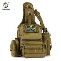 Military Tactical Backpack 4 In 1 Waterproof Outdoor Bag Travel Camping Hiking Trekking Bag Shoulder Sling