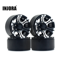 4PCS RC Crawler 1 10 Metal Alloy Wheel Rim 1 9 Inch BEADLOCK For 1 10