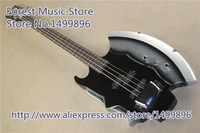 Chinese Cort Simmons AXE Electric Bass Guitar 4 String Chrome Hardware Bass For Sale