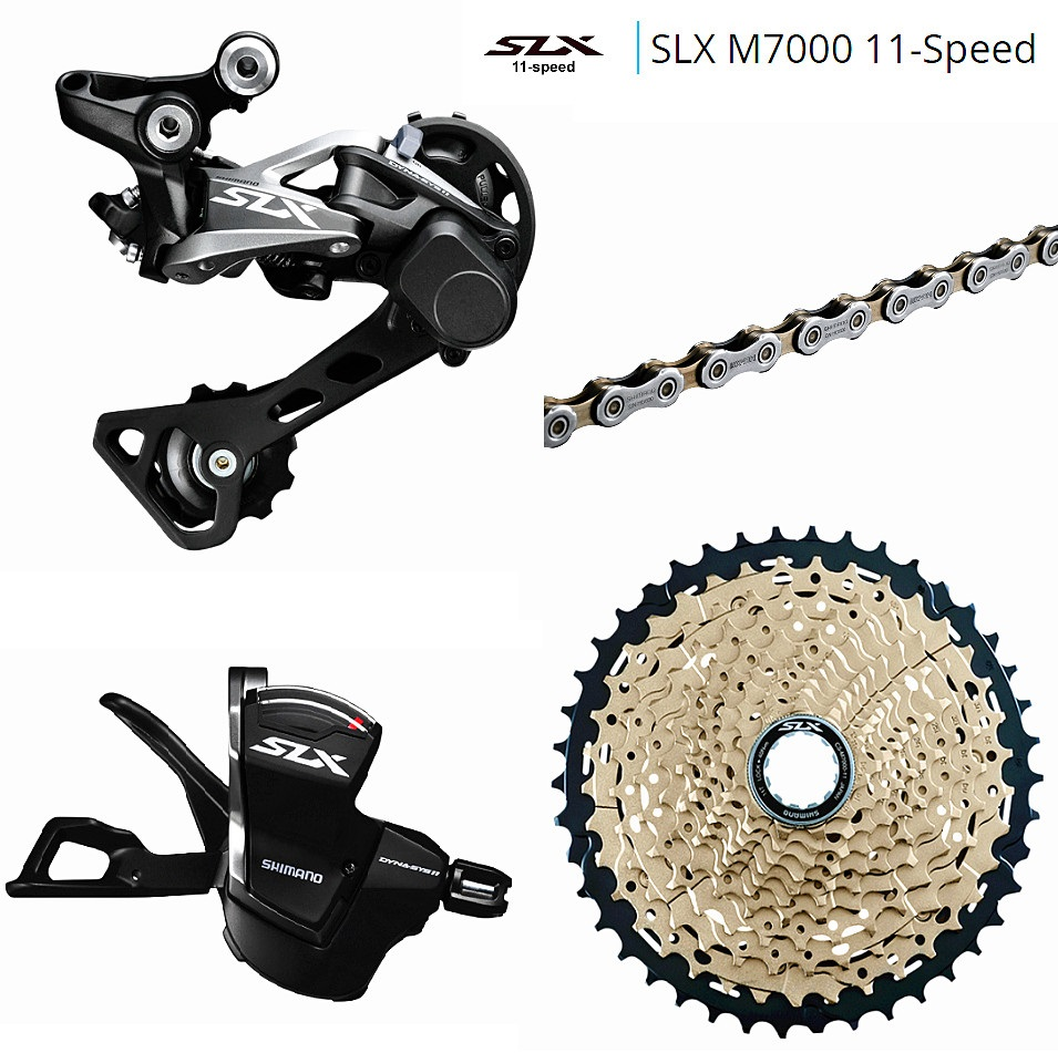 Sales fit XC AM FR DH MTB SHIMANO SLX M7000 1x11 11S Speed 11-40-42-46T SUNSHIN-40-50T mountain bike drive system shimano cnd 90871 покрытие гелевое winter glow shellac aurora 7 3мл