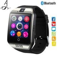 AhSSuf Phone Watch SIM Card Vibrating Alarm Clock Facebook Smart Watch Browser Radio Watch Record Wear