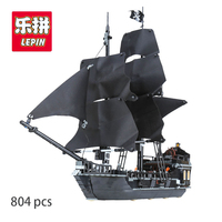 LEPIN 16006 Pirates Of The Caribbean Black Pearl Building Blocks Set 4184 Funny Educational Gifts Toys