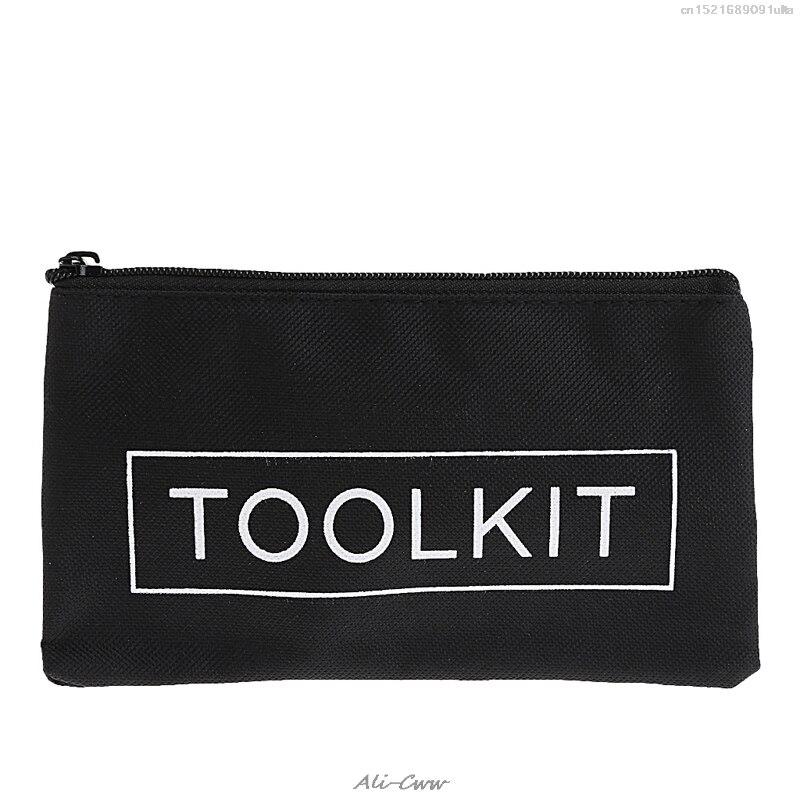 2018 Tool Bag Zipper Storage Instrument Case 19*11cm Oxford Cloth 600D Waterproof