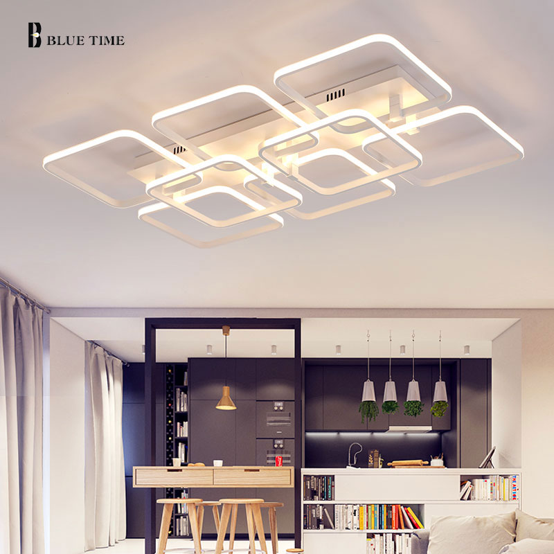 Hot Modern LED Ceiling Light For Ceiling Iron Mounted Bedroom Dining Room Living Room Indoor Ceiling Lamp Free Shipping 110-240V