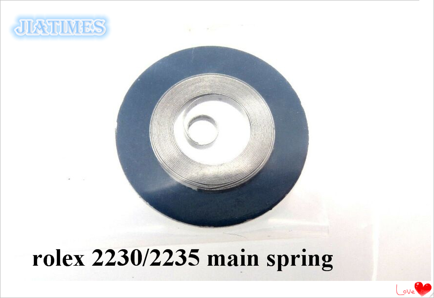 Free Shipping 1pc Genuine Rlx 2230 2235 Main Spring Brand New For Watch Repair