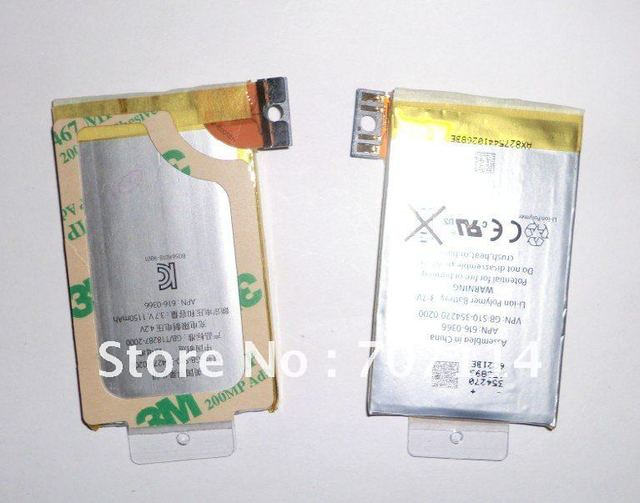 FEDEX Free shipping 100pcs/lot  battery for iPhone 3G 3GS 8GB 16GB 32GB