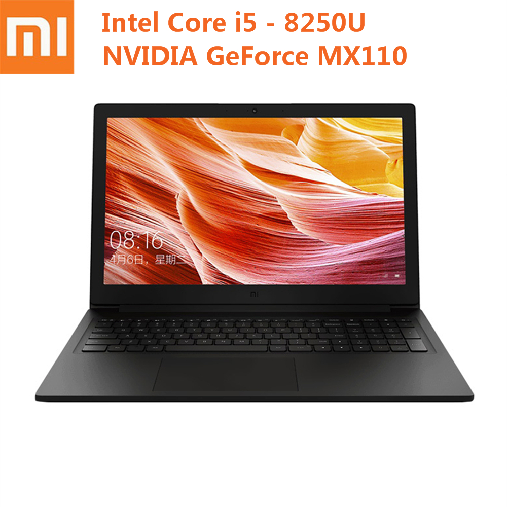 2019 Xiaomi Mi Ruby 15.6 Inch Laptop Windows 10 Intel Core I5 - 8250U Quad Core MX110 8GB 256GB 512GB 1.6GHz Notebook PC