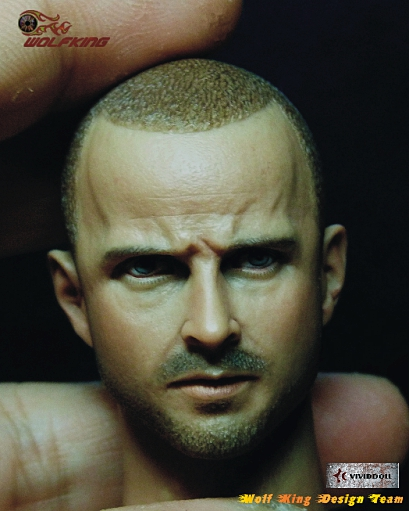 цена на 1/6 scale figure doll head shape for 12 action figure doll accessories Breaking Bad Jesse Pinkman male Head carved