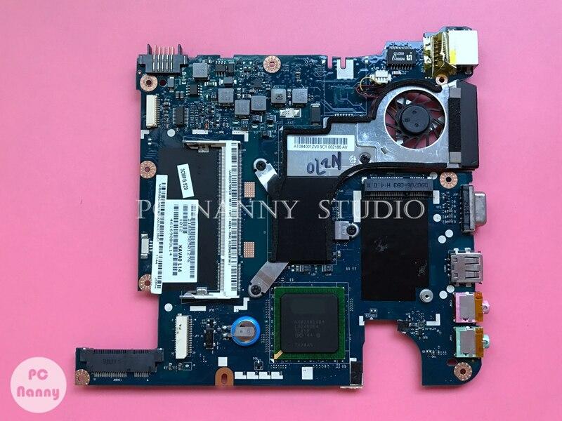 NOKOTION MBS9202001 KAV60 LA-5141P Notebook Motherboard For Acer Aspire ONE P531h Mainboard Ddr2 Atom N270 1.6 GHz Works