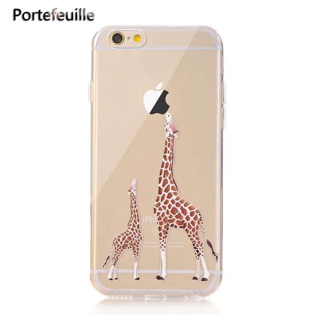 giraffe iphone 8 plus case