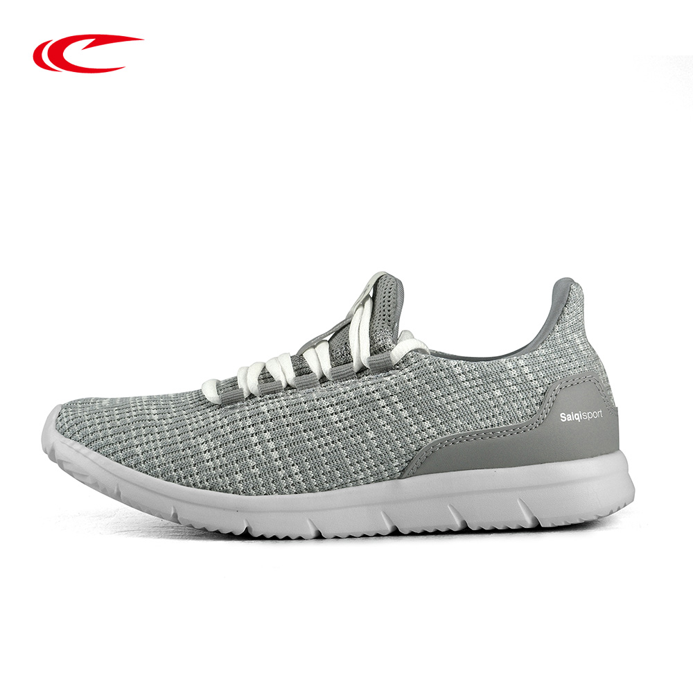 SAIQI Breathable Sneakers For Women Sport Shoes Female Light-weight Footwear Ladies Slip-on Running Shoes Women Walking Shoes women sneakers light weight 2018 41 woman casual shoes slip on lazy shoes comfortable candy color breathable net shoe