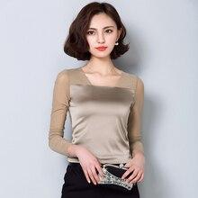 Women Blouses 2019 Autumn New Arrival Korean Fashion Solid Slim Long Sleeve Ladies