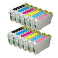 12x Compatibile EPSON T0827 Cartuccia di Inchiostro Per Stylus Photo R270 R390 RX590 RX610 RX615 T59 TX650 T50 TX720 TX700