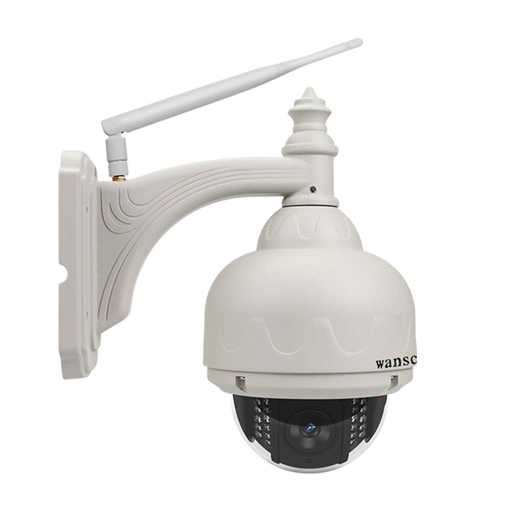 Caméra de Surveillance vidéo Wifi sans fil réseau de caméra IP wanarnaque 2MP 1080 P Audio bidirectionnel IP66 étanche à l'énergie solaire extérieure