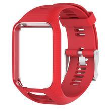 Для спортивной одежды силиконовый ремешок для часов Рамки замена ремешок для TomTom Runner 2/Runner 3/SPARK/Искра 3 /Гольфист 2/авантюрист