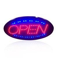 Animated Movimento LED Aperto Segno Pubblicità Light Shopping Mall Da Corsa Neon Business Negozio Coffe Shop Bar con Interruttore US EU spina