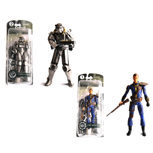 "Image 2 - Two Colors Fallout 4 PVC Action Figure 8"" Power Armor Out of Clothing Toys Gifts Collections Displays Brinquedos for Fans Kid"