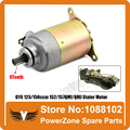 GY6 125/150ccm 152/157QMI/QMJ Engine  Electric Stater Motor  Fit Scooter Motorcycles ATV Go-Cart Spare Parts  Free Shipping