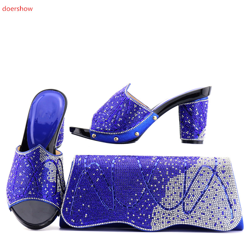 doershow 2018Fashion Italian Shoes With Matching Bags For Party, High Quality Shoes And Bags Set for Wedding!ZQ1-5doershow 2018Fashion Italian Shoes With Matching Bags For Party, High Quality Shoes And Bags Set for Wedding!ZQ1-5