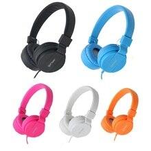Fone de ouvido baixo estéreo 3.5mm fone de ouvido para jogos auricular música fone de ouvido fone de ouvido fone de ouvido para iphone huawei xiaomi smartphone tablet pc
