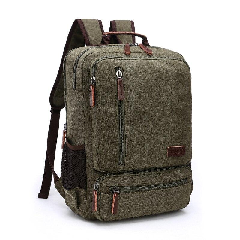 Outdoor Hiking Laptop Backpack Waterproof Canvas Men Women Bag Unisex Travel Bag Mountain Camping Climbing Mochilas